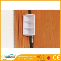 Baby safety over door door wind stopper