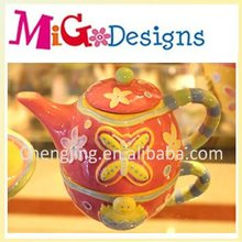 CupCake Ceramic Easter china tea pot