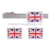 New High Quality Flag Cufflinks British Flag Cuff Resin Nation Flag Cuff Links