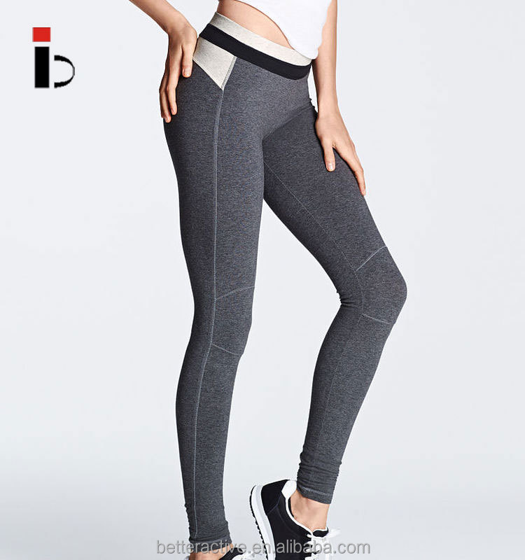 Polyester spandex New design wholesale leggings With hidden pocket