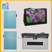 Top quality! Leather flip case for huawei mediapad 10fhd link tablets accessories new