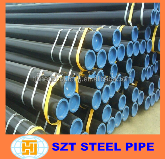API 5L PSL1 ASTM A106 Gr.B ERW/Seamless Line Pipes for oil or gas transport