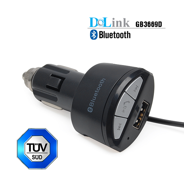 Factory Wholesale Support Hands-Free Call AUX 3.5mm Audio Output Bluetooth Receiver Car Kit With USB Car Charger Adapter
