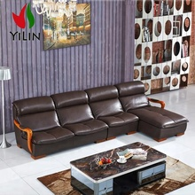 New Design Coffee color massage chaise leather sofa leather <strong>furniture</strong> for sitting roomR908
