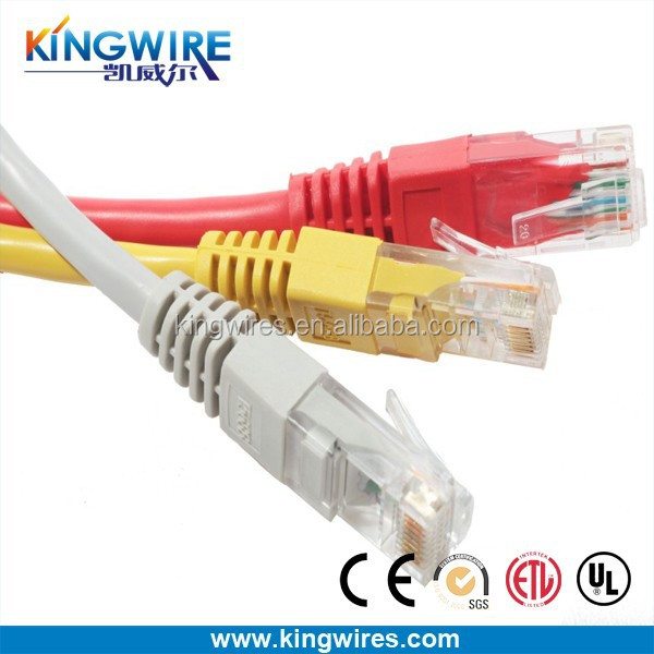 GHT Factory wires and cables 3m cat6 utp patch cord CCA 86HDPE patch cables cat 6 utp