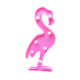 Amazon Hot Sale Romantic Warm Light Flamingo Lamp Wall Decor Tropical Fiesta plastic Flamingo marquee LED Baby Night Light