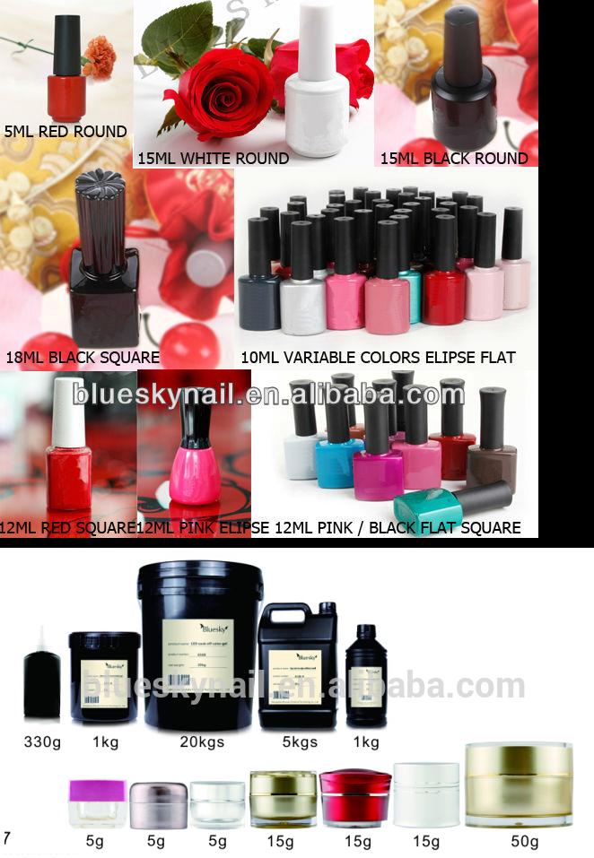 Bluesky Nouvelle mode meilleure qualité couleurs gel vernis à ongles