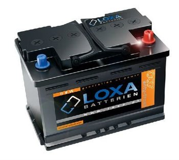 61Ah/540A LOXA Car Battery