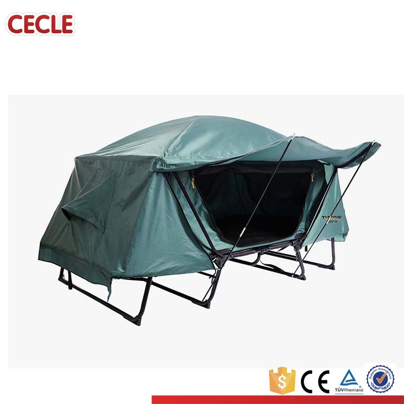 Unique Design Camping Tent Cot, folding bed camping tent with bed