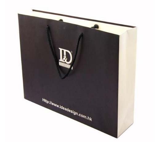 Restaurant Heat Seal Coated Rose Gold Grease Proof Guess White Kraft Paper Bag With Twisted Handle