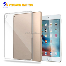 2017 New Clear transparent tpu case for ipad 10.5 inch /9.7 inch /12.9 inch for ipad pro case cover