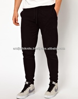 100% COTTON FLEECE MENS SKINNY SWEAT PANT