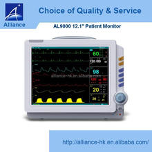 "CE ISO 12.1"" color TFT screen AL-9000 Patient Monitor"