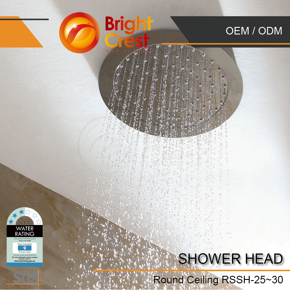 Brightcrest-WholeSale retractable hand shower | multi-function spray shower heads for Vietnam