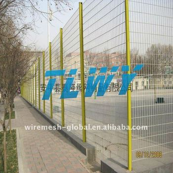 High walkway security window grilles fencing