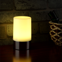 led rechargeable table lamp for restaurant/bar/home