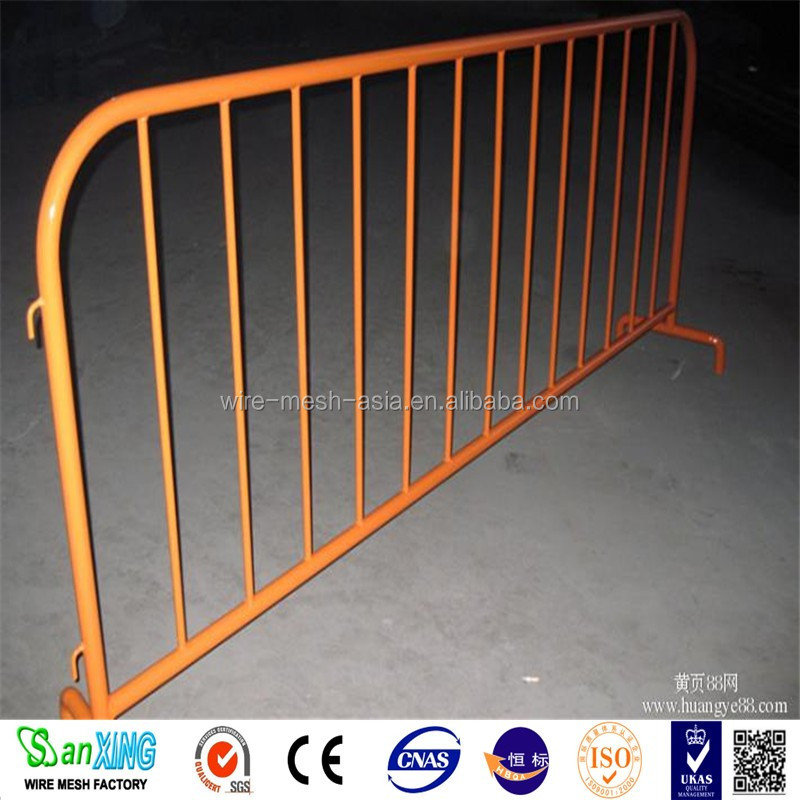 Road/rail way/residence district temporary metal fence