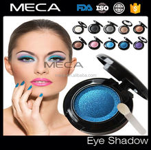 private label silky long lasting single eyeshadow for makeup mineral eyeshadow powder