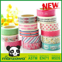 widely used decorative funny deco tape masking tape