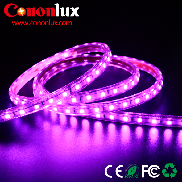 AC 110V/220V flexible led strip light IP68 100m/roll led strips pink/red/blue/green smd5050/2835/3528/ led strip with CE ROHS