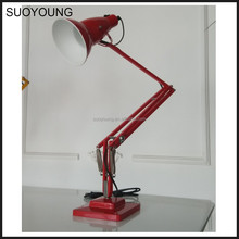 Modern Antique Dressing AluminiumTable Lamp White Red Yellow Black MT7080-1