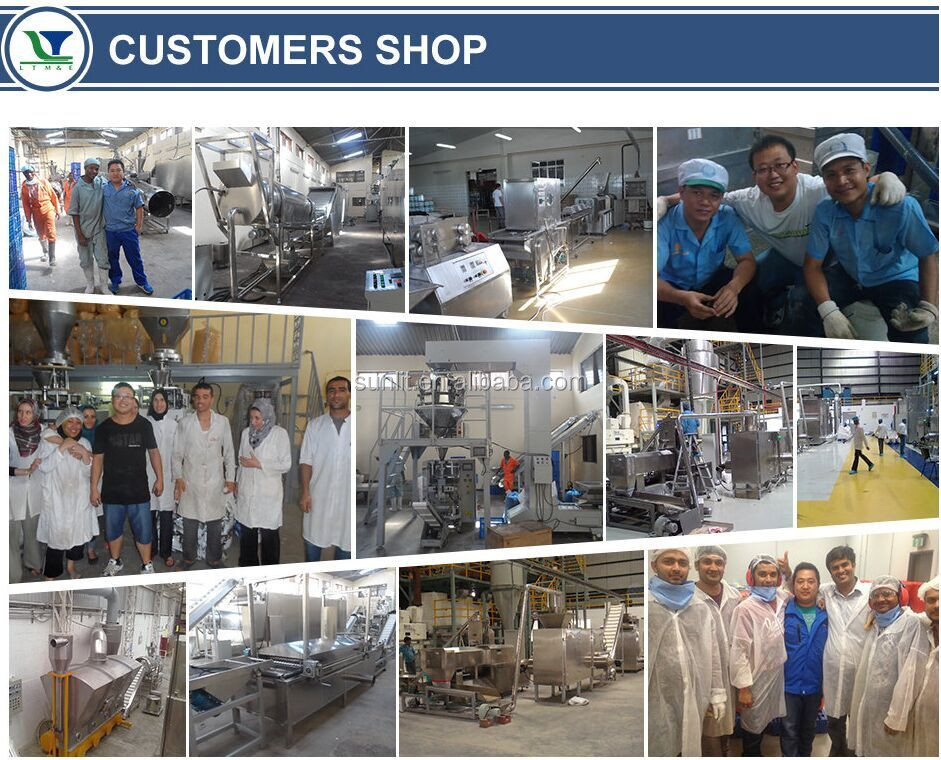 2016 hot sale breakfast cereal /corn flakes making machine/making line with ISO and CE certification