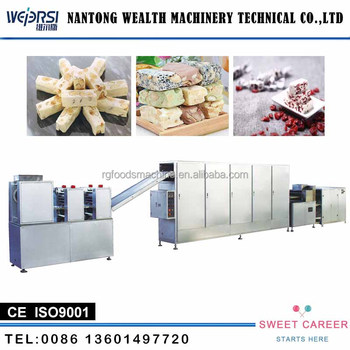 High Quality Rectangular Nougat Candy/Soft Candy Cutter Making Machine