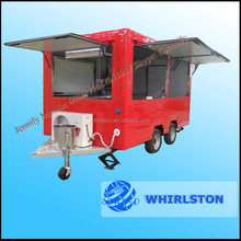 Fast Food And Beverage Application Fast Food Trailer With Equipments