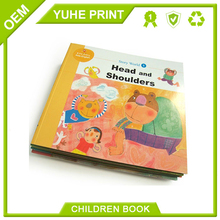 Low price high quality customized hot sale overseas CMYK 4C printing factory for kids reading book printing