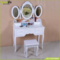 Dressing table sets with 3 mirrors and  Stool