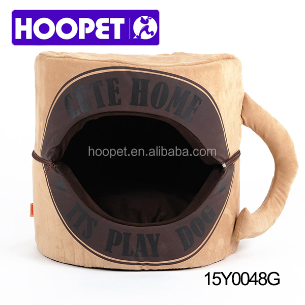 2016 HOOPET new arrival pet bed wholesale cup shaped dog house funcy dog bed