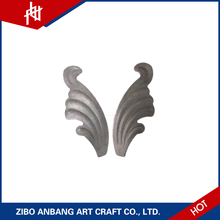 Amazing stamped cast leaves structural design definition