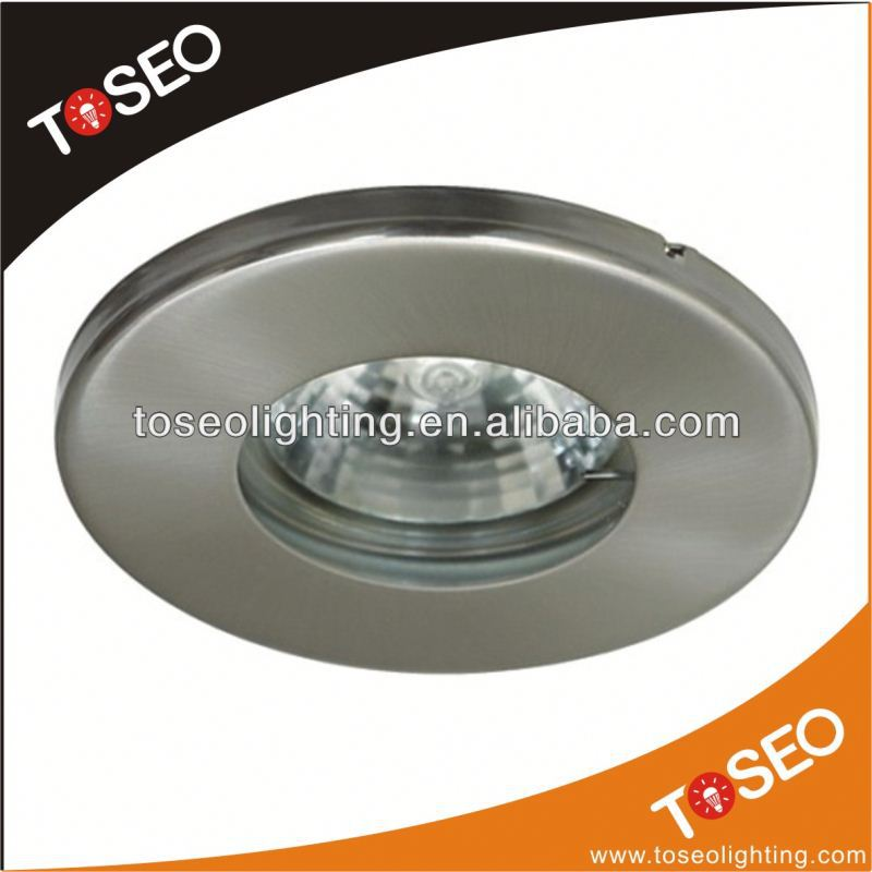 traditional die-casting recessed ceiling mount fluorescent light