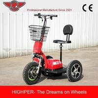 500w 48v 3 big wheel electric scooter for adult