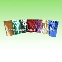 Metalizing printing stand up packing pouches with zipper top