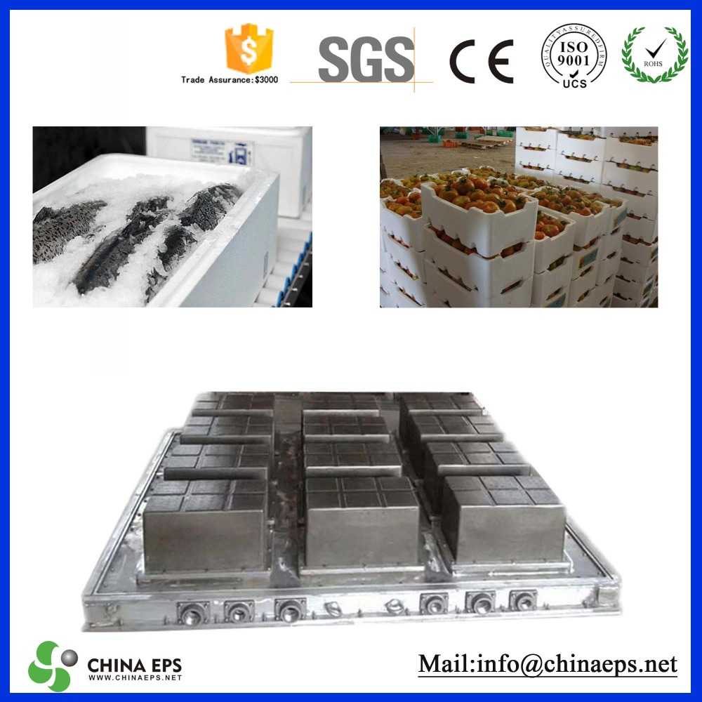 EPS foam decoration moulding mold / expandable polystyrene moulds for paving stones