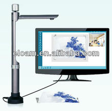 New! 5.0 Mega pixel portable digital A4 visualizer, document camera, visual presenter