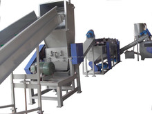 Plastic PE PP Film Washing Line Recycling Machinery