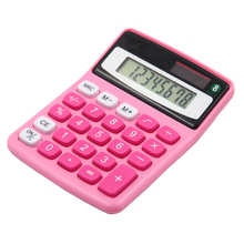 Y-1305 8 digits small size general purpose office desktop solar calculator