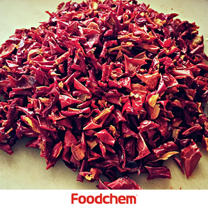 Air Dried Dehydrated Flakes Low Price Of Red Sweet Bell Pepper