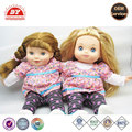 plastic toy figures with real clothing 18inch doll