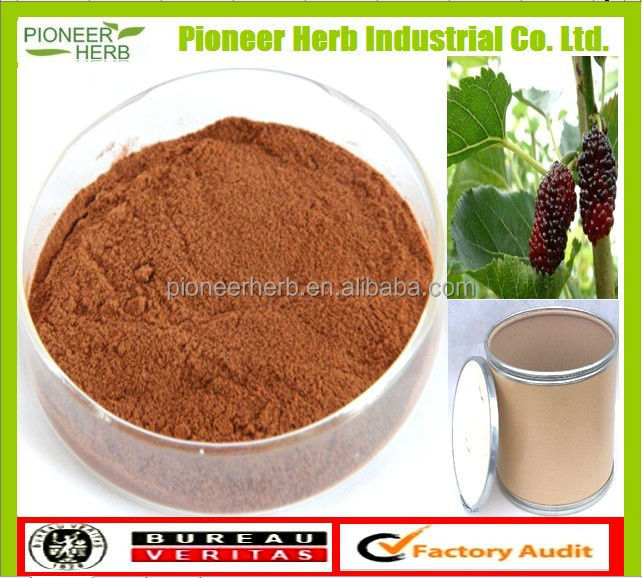 Natural mulberry leaf extract mulberry leaf dnj powder