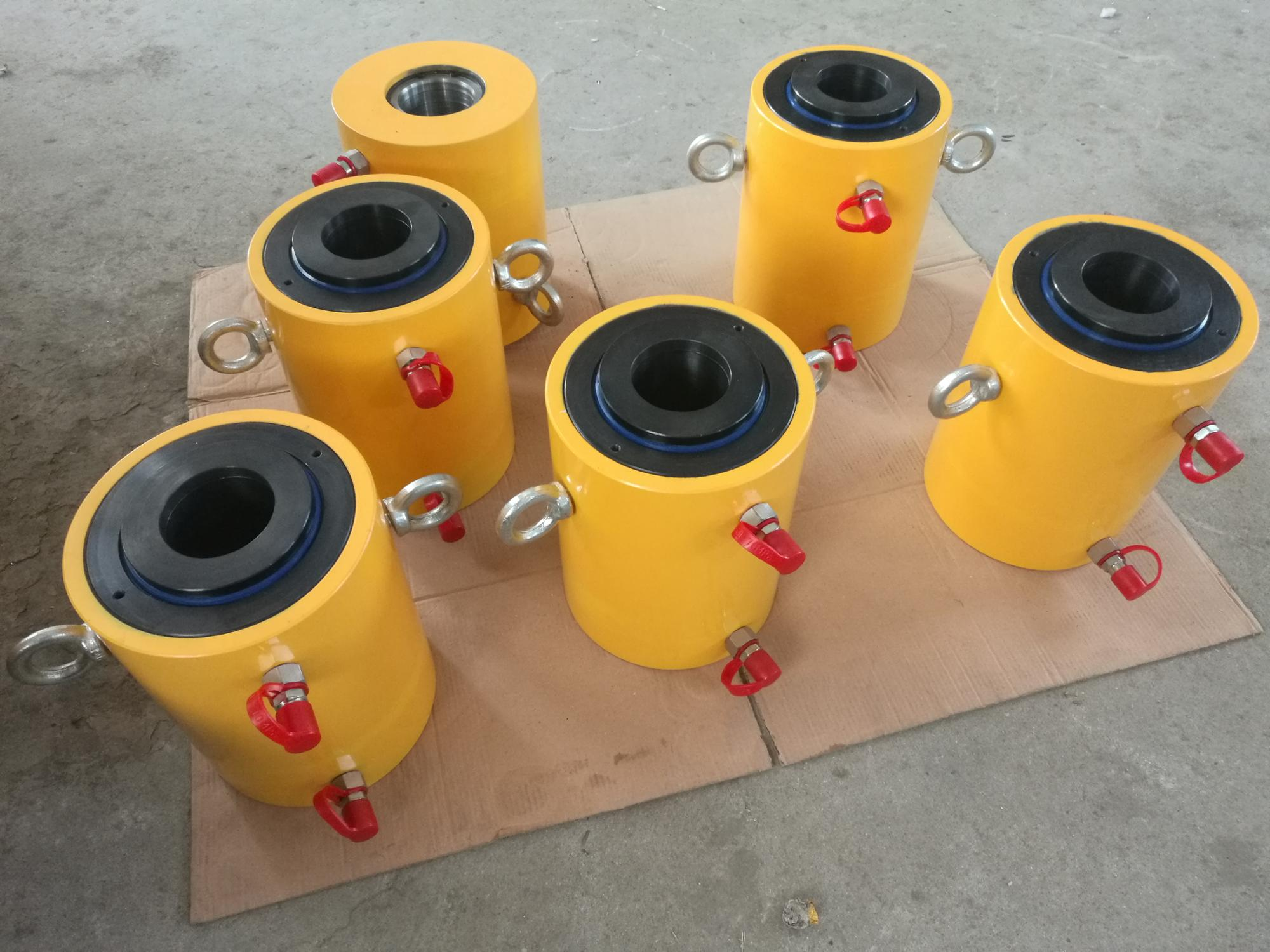 KY-200 double acting ultra high pressure high tonnage hydraulic cylinder for sale ( whatsapp: 0086.13275343576 )