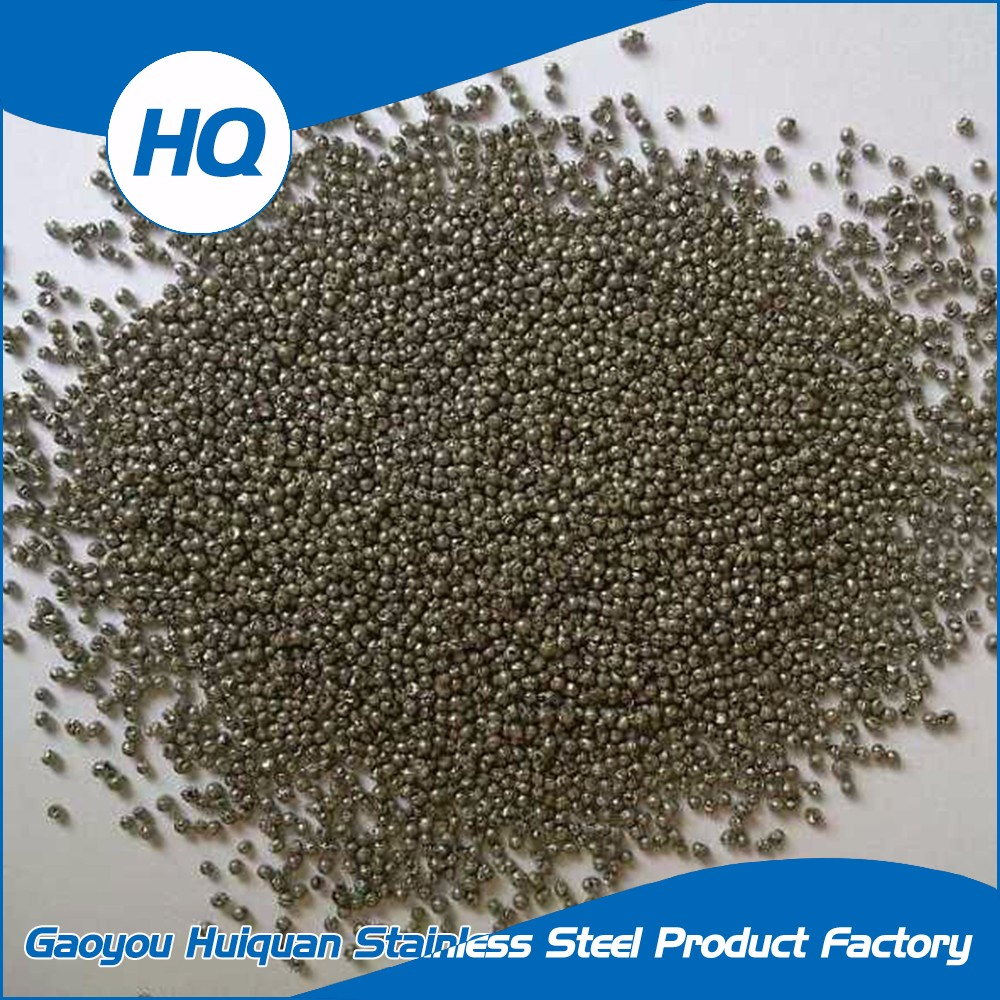 Deburr stainless steel balls with hole