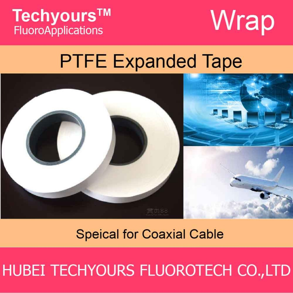 PTFE insulation tape for coaxial cable