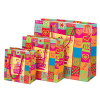 happy birthday paper bag for gift packing