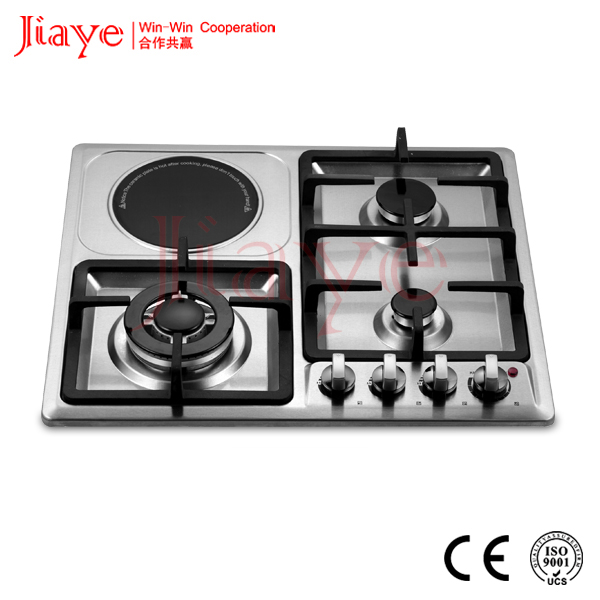 Chinese built-in gas hob and electric stove for kitchen JY-ES4015