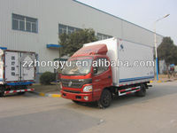 3-4Tons Aluminum cargo trucks for sale/freezer cargo van/light freezer trucks for sale