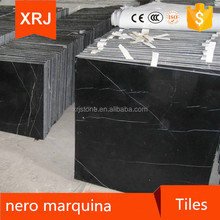 China Nero Marquina Black and White Marble Stairs and Step