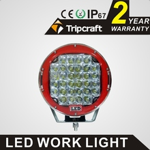 "9"" 160w round led work driving light, led offroad head lamp SUV TRUCK CAR 4WD BOAT"